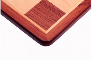 Size No 5 (without notation, rounded corners) Padauk/maple NEW!