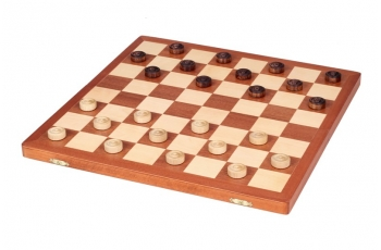 CHECKERS 64 FIELD set Inlaid