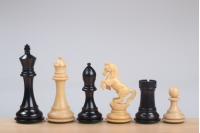 "ALEXANDER EBONY 4"" chess pieces"