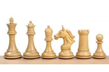 DERBY KNIGHT REDWOOD 4'' chess pieces