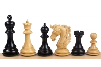 "ELVIS KNIGHT EBONY 4"" chess pieces"