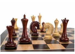 "EMPIRE REDWOOD 4"" chess pieces"