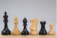 "Executive Ebonised 3,5"" chess pieces"