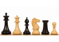 "PERSHING EBONY 4,25"" chess pieces"