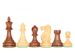 Reykjavik Acacia/Boxwood chess pieces 3,75''