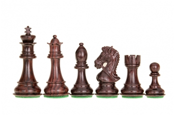 Kings Bridal Acacia/Boxwood 3,5'' chess pieces