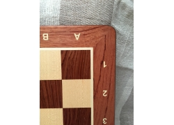 Size No 5 (with notation, rounded corners) Padauk/maple