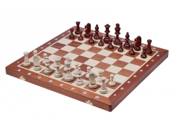 TOURNAMENT No 5 Inlaid (intarsia) - New Line, instert tray, wooden pieces
