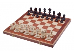 TOURNAMENT No 7 Inlaid (intarsia) - New Line,  insert tray, wooden pieces