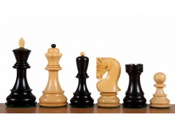 Zagreb Ebonised chess pieces 3,75''