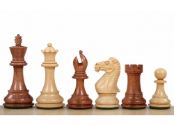 "Stallion Knight Acacia/Boxwood 3,5"" chess pieces"