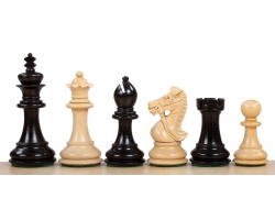 Kings Bridal Ebonised 3,5'' chess pieces