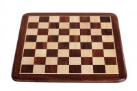 FLAT CHESS BOARD 50MM ACACIA WOOD