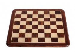 FLAT CHESS BOARD 50MM ROSEWOOD
