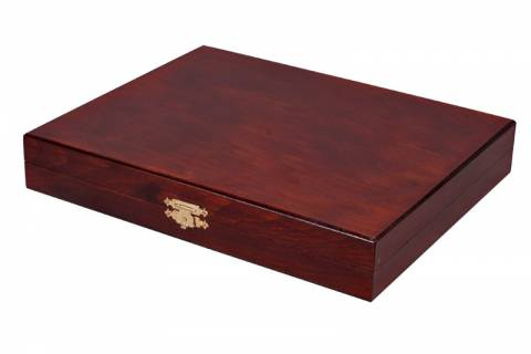 STAUNTON LUX No 5 BOX BROWN