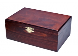 STAUNTON No 4 Wooden Box (dark)