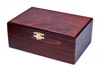 STAUNTON No 5 Wooden Box (dark)