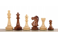 "Blackmore Acacia/Boxwood 3,75"" chess pieces"