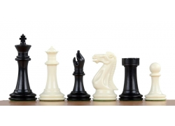 Chess pieces Plastic (98mm) weighted
