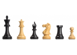 DGT Electronic Ebony Chess Pieces Weighted