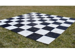 "Giant Plastic Chess Board 14"" (37cm)"