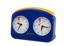 HETMAN plastic chess clock – BLUE LARGE