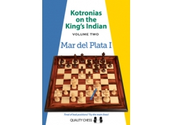 Kotronias on the King's Indian Mar del Plata I (hardcover) by Vassilios Kotronias