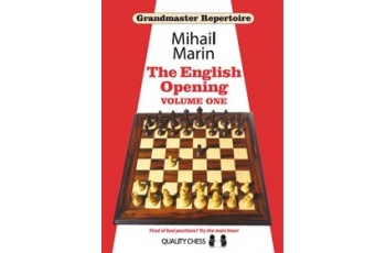 GM 3 - The English Opening vol. 1 by Mihail Marin (hardcover)