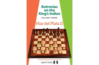 Kotronias on the King's Indian Mar del Plata II (hardcover) by Vassilios Kotronias